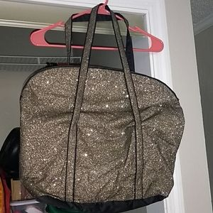 NEW Victoria's secret sparkly tote bag
